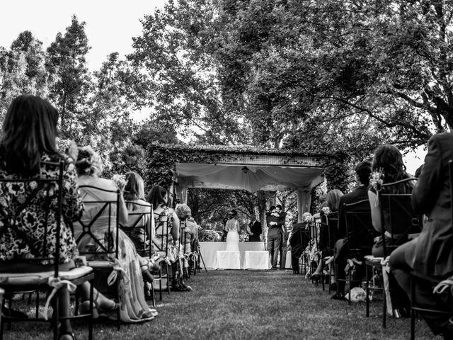 La boda de Mario y Lucía en El Escorial, Madrid 39