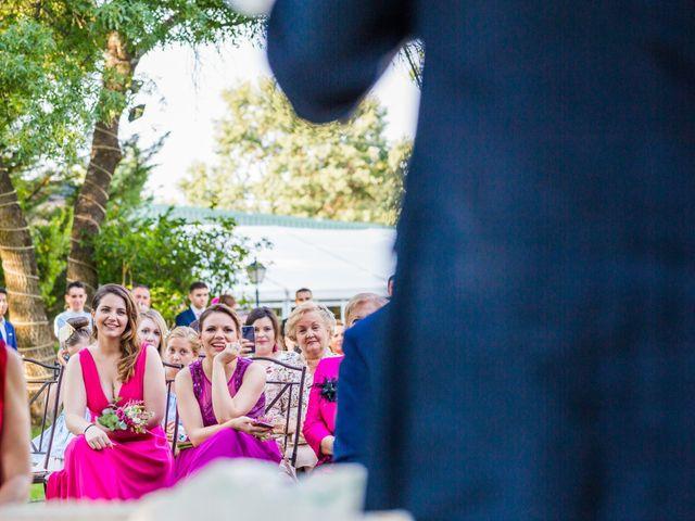 La boda de Mario y Lucía en El Escorial, Madrid 42