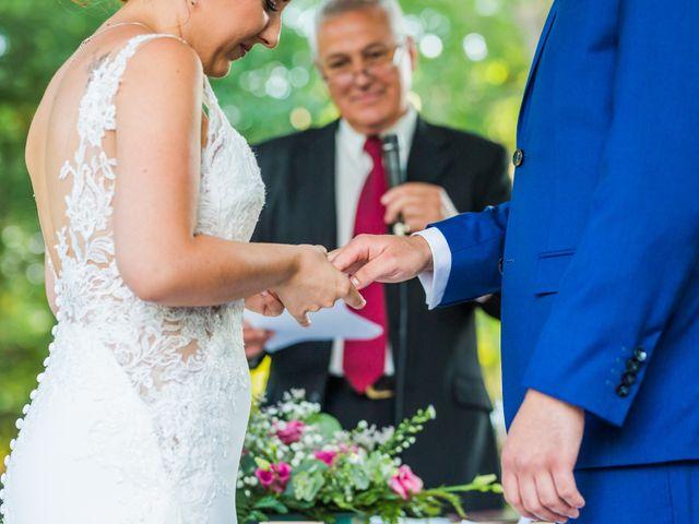La boda de Mario y Lucía en El Escorial, Madrid 54