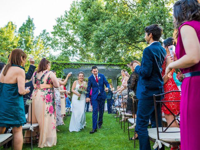 La boda de Mario y Lucía en El Escorial, Madrid 57