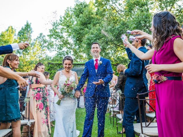La boda de Mario y Lucía en El Escorial, Madrid 58