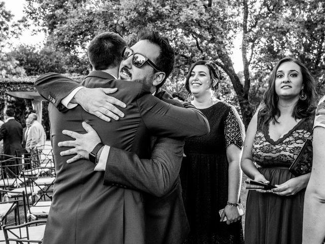 La boda de Mario y Lucía en El Escorial, Madrid 66
