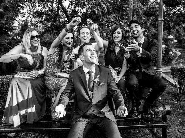 La boda de Mario y Lucía en El Escorial, Madrid 74