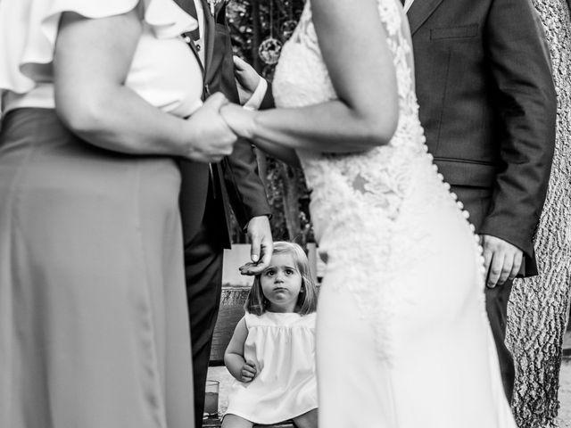 La boda de Mario y Lucía en El Escorial, Madrid 75