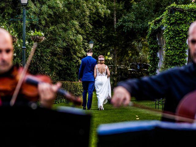 La boda de Mario y Lucía en El Escorial, Madrid 83