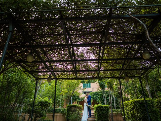 La boda de Mario y Lucía en El Escorial, Madrid 89