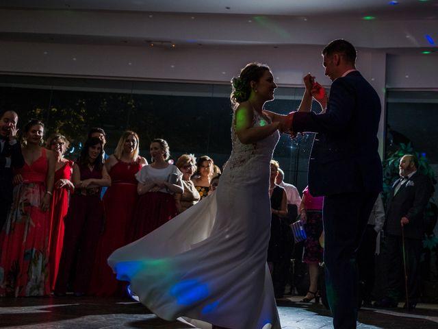 La boda de Mario y Lucía en El Escorial, Madrid 106