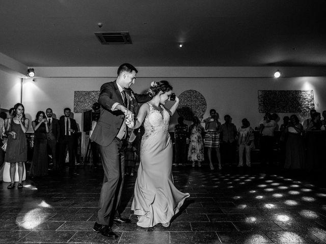 La boda de Mario y Lucía en El Escorial, Madrid 107