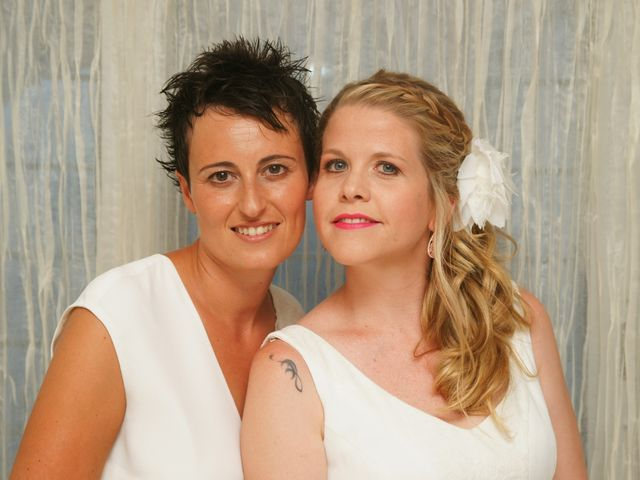 La boda de Jess y Silvia en Canet De Mar, Barcelona 1