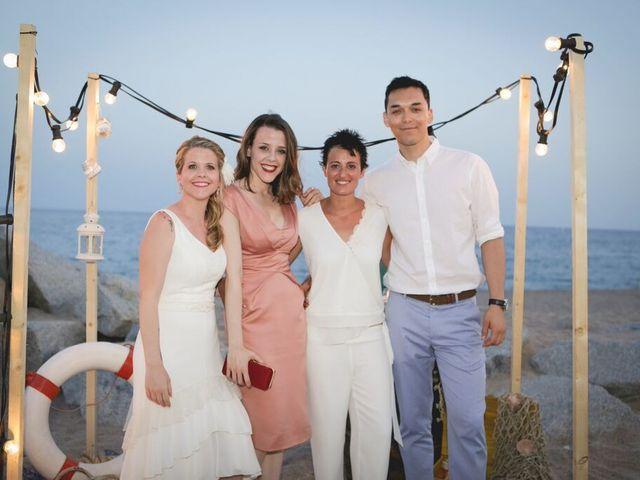 La boda de Jess y Silvia en Canet De Mar, Barcelona 35