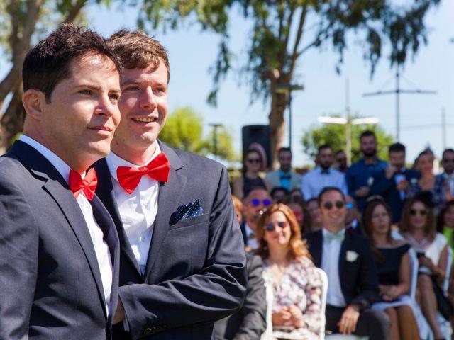 La boda de Fede y Rubén en Valencia, Valencia 17