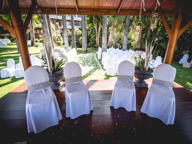 La boda de Francisco  y Patricia  en Puerto De La Cruz, Santa Cruz de Tenerife 18