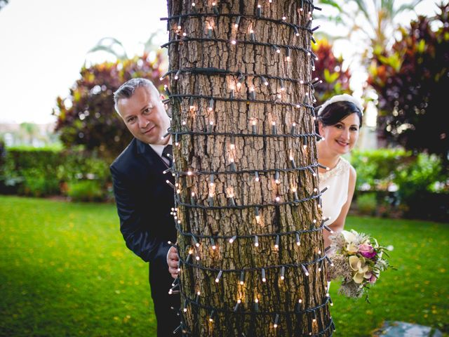 La boda de Francisco  y Patricia  en Puerto De La Cruz, Santa Cruz de Tenerife 31