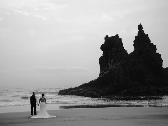 La boda de Francisco  y Patricia  en Puerto De La Cruz, Santa Cruz de Tenerife 37