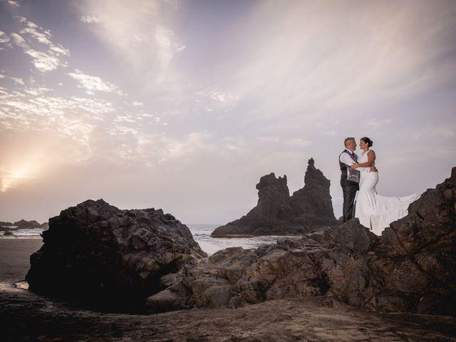 La boda de Francisco  y Patricia  en Puerto De La Cruz, Santa Cruz de Tenerife 38