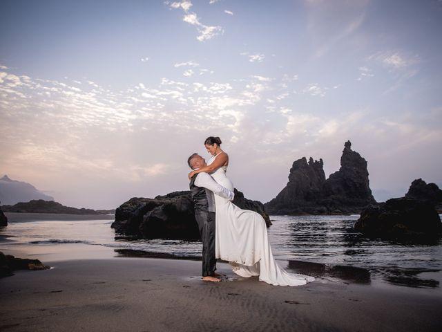La boda de Francisco  y Patricia  en Puerto De La Cruz, Santa Cruz de Tenerife 39