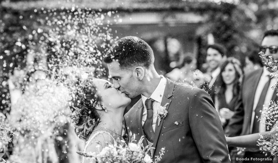 La boda de Mario y Lucía en El Escorial, Madrid
