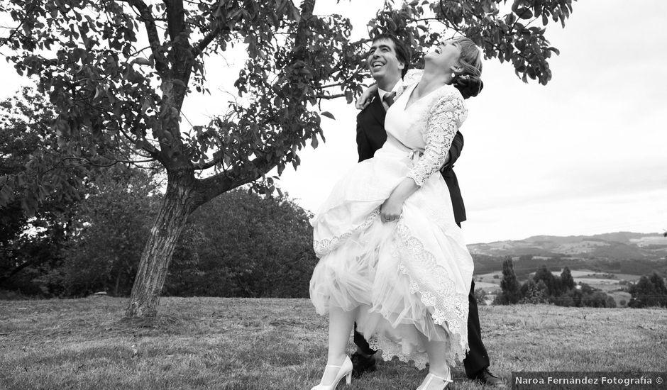 La boda de Erlantz y Karlota en Larrabetzu, Vizcaya