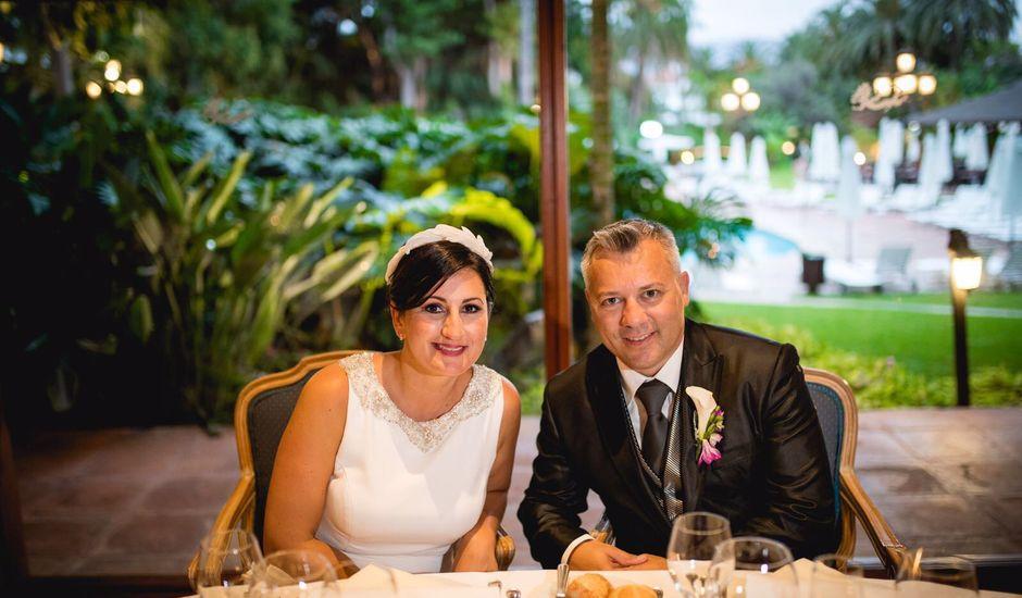 La boda de Francisco  y Patricia  en Puerto De La Cruz, Santa Cruz de Tenerife