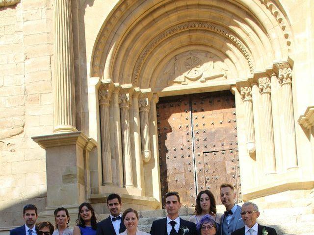 La boda de Alberto y Julia en Tamarite De Litera, Huesca 1