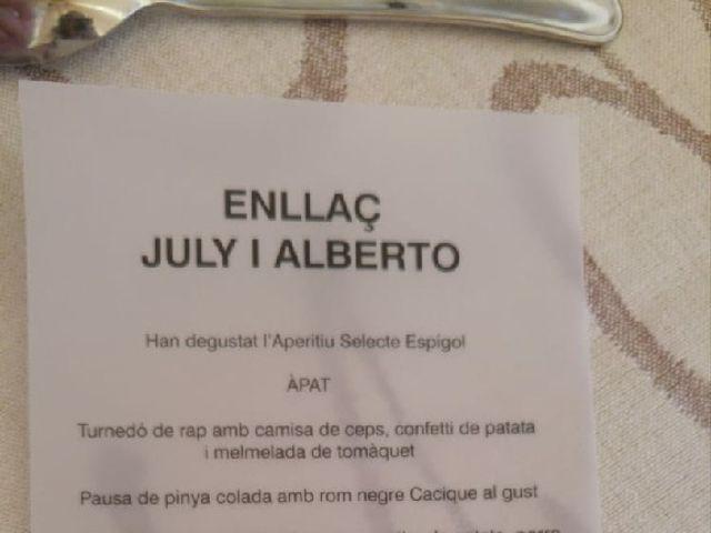La boda de Alberto y Julia en Tamarite De Litera, Huesca 4