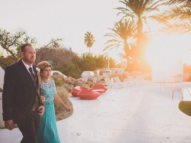 La boda de Christian  y Silvia en La Manga Del Mar Menor, Murcia 3
