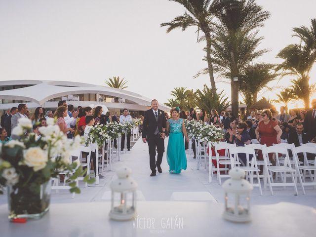 La boda de Christian  y Silvia en La Manga Del Mar Menor, Murcia 4