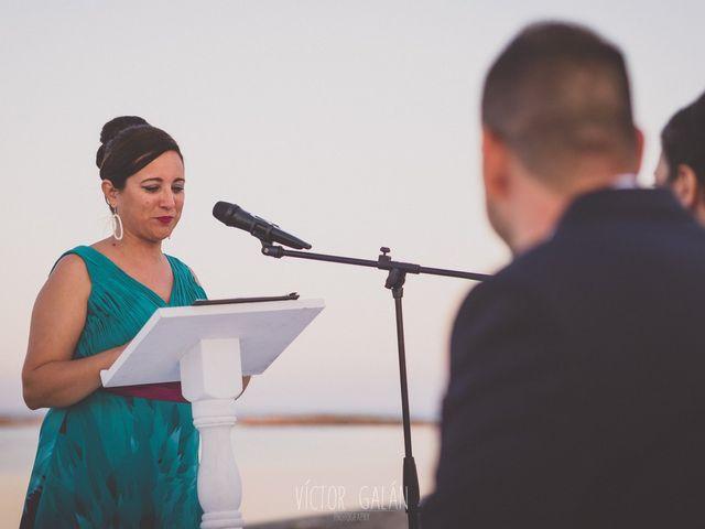 La boda de Christian  y Silvia en La Manga Del Mar Menor, Murcia 8