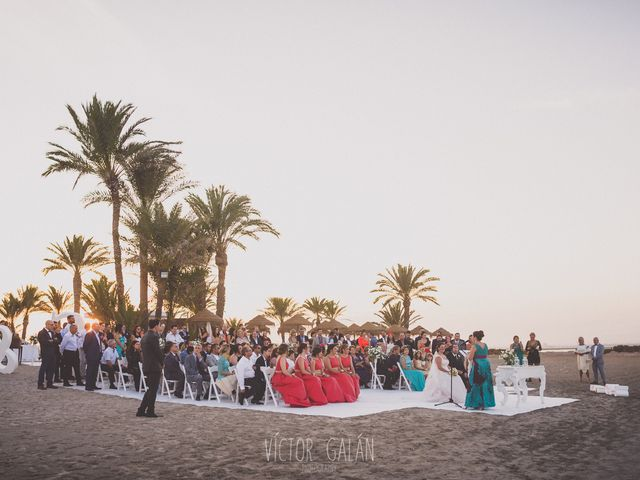 La boda de Christian  y Silvia en La Manga Del Mar Menor, Murcia 9