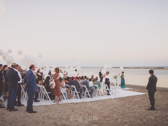 La boda de Christian  y Silvia en La Manga Del Mar Menor, Murcia 10