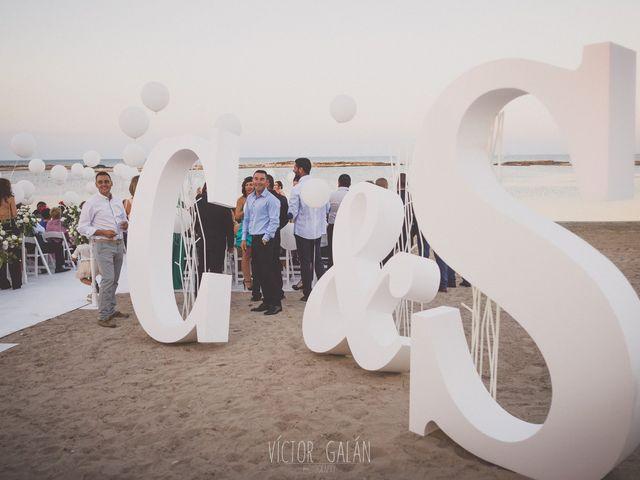 La boda de Christian  y Silvia en La Manga Del Mar Menor, Murcia 11