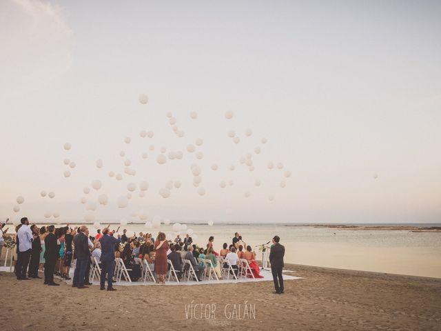La boda de Christian  y Silvia en La Manga Del Mar Menor, Murcia 12