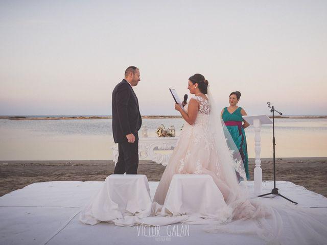 La boda de Christian  y Silvia en La Manga Del Mar Menor, Murcia 13
