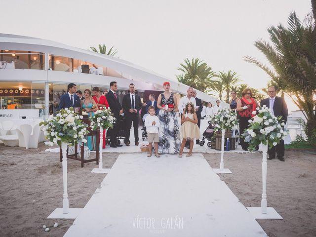 La boda de Christian  y Silvia en La Manga Del Mar Menor, Murcia 14