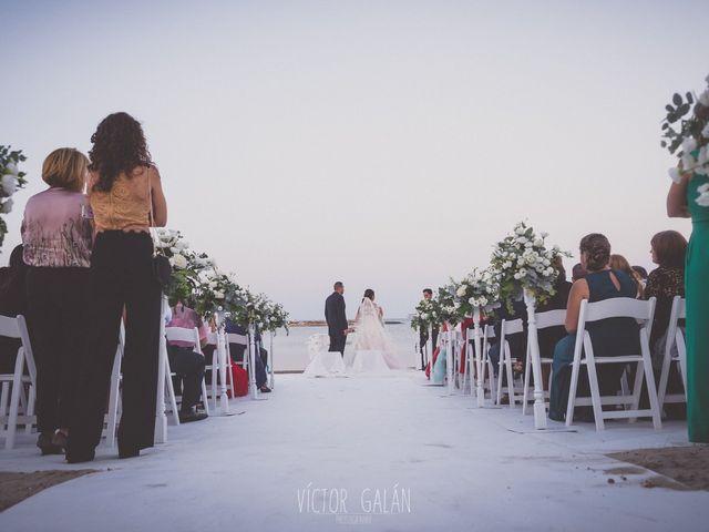 La boda de Christian  y Silvia en La Manga Del Mar Menor, Murcia 2