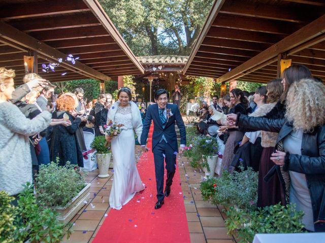 La boda de Tommy y Xia en Montornes Del Valles, Barcelona 1