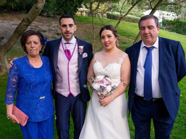 La boda de Carlos y Rut en Madrid, Madrid 414