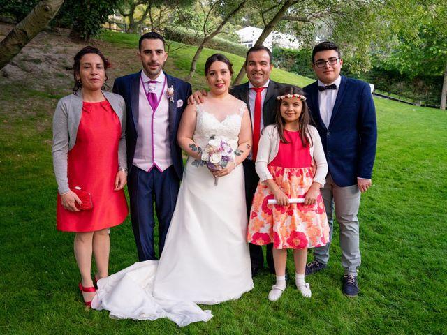 La boda de Carlos y Rut en Madrid, Madrid 415