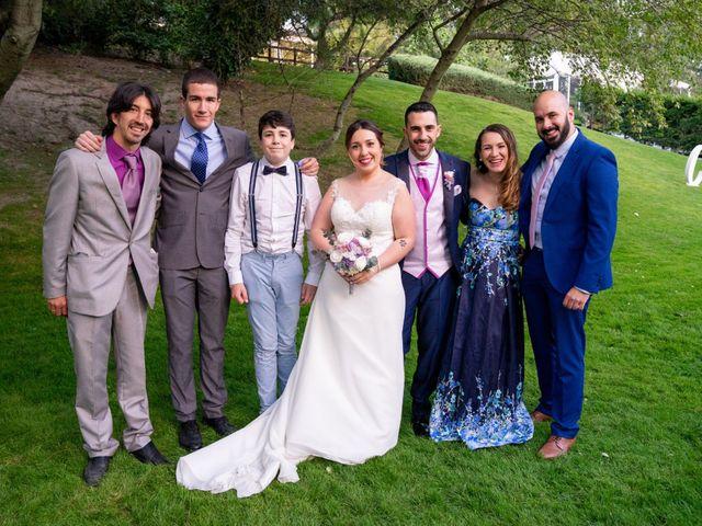 La boda de Carlos y Rut en Madrid, Madrid 419