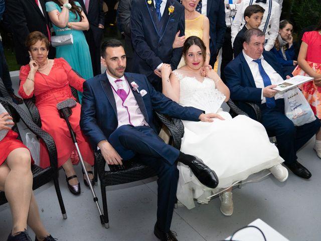 La boda de Carlos y Rut en Madrid, Madrid 570
