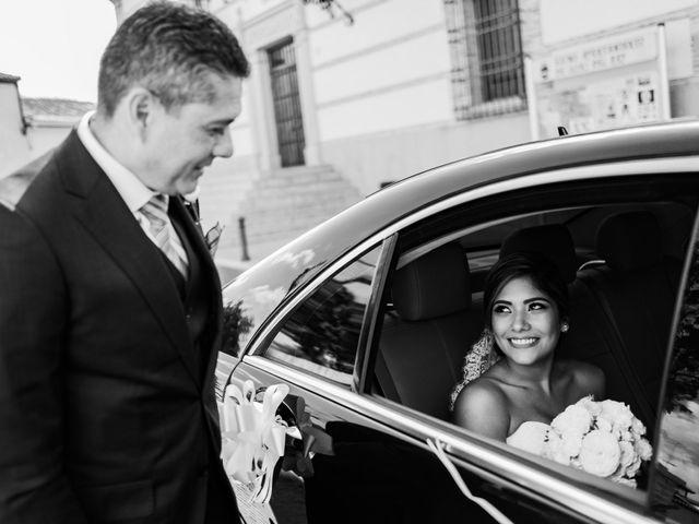 La boda de Cesar Loo y Lourdes González  en Toledo, Toledo 13