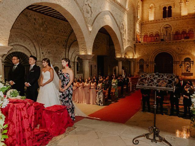 La boda de Cesar Loo y Lourdes González  en Toledo, Toledo 14