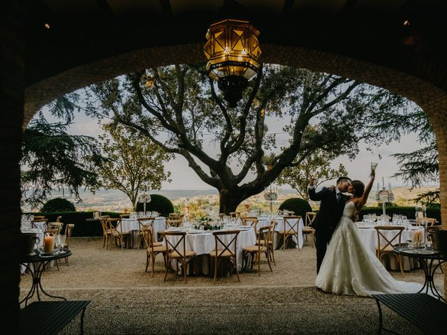 La boda de Lourdes González  y Cesar Loo