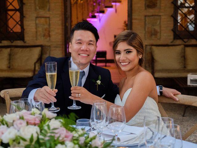 La boda de Cesar Loo y Lourdes González  en Toledo, Toledo 36