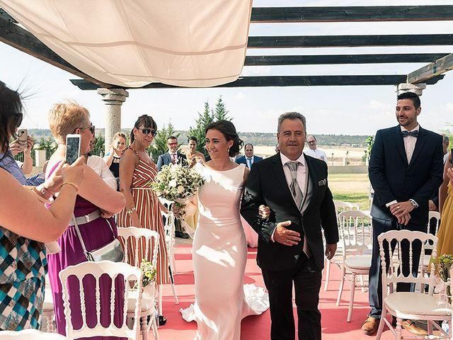 La boda de David y Virginia en Ávila, Ávila 50