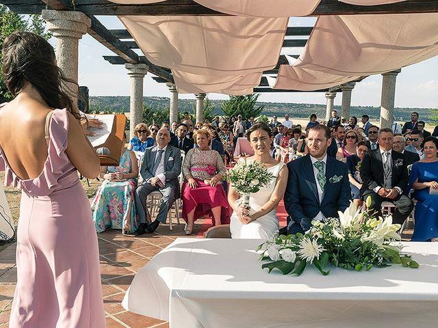 La boda de David y Virginia en Ávila, Ávila 56