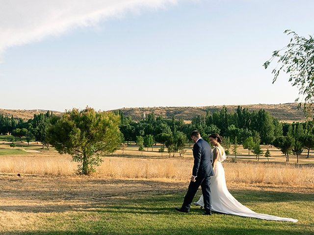 La boda de David y Virginia en Ávila, Ávila 83
