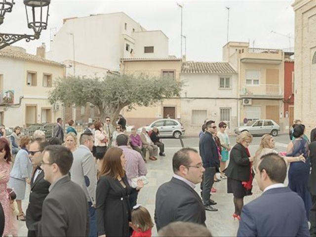 La boda de Sergio y Elisabeth en Archena, Murcia 20