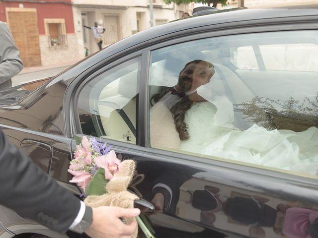 La boda de Sergio y Elisabeth en Archena, Murcia 22