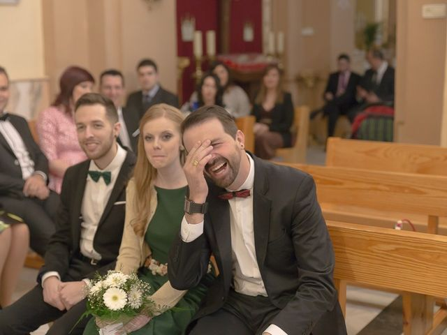 La boda de Sergio y Elisabeth en Archena, Murcia 28